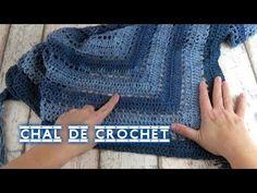 COMO HACER UN CHAL DE CROCHET TRIANGULAR FACIL | Crochet shawl - YouTube