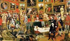 The Tribuna of the Uffizi by Johann Zoffany