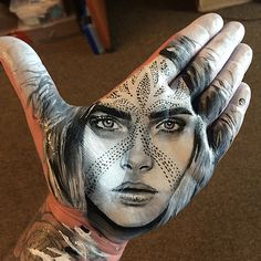California-based Russell Powell takes finger painting to another level with these celebrity portraits created using his hands! Where: California, United States When: 09 Jul 2015 Credit: Supplied by WENN.com