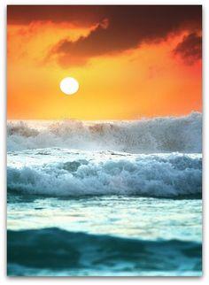 Casual Short Sleeve Graphic Tee Shirts,Seascape Sunset Horizon Fashion Personality Customization