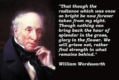 Wordsworth, poet - See his land in the Lake District.
