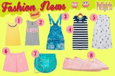 FASHION NEWS JUNIO 2014