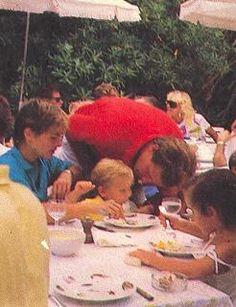 Andrea and Stefano Casiraghi Princess Caroline Of Monaco, Princess Stephanie, Andrea Casiraghi, Monaco Royal Family, Prince Albert, Royal House, Album Photo, Grace Kelly, Beautiful Children