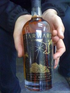 Starward Whisky in the Hands of David Vitale Whiskey Bottle, Vodka Bottle, A Star Is Born, Whisky, Random Things, Topaz, Barrel, David, Hands
