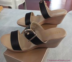 CharmandGlam's Love Shopping by Ara >> Footwear from Parisian Basic #wedges #sandals #shoes #fashionblog #fashionblogger