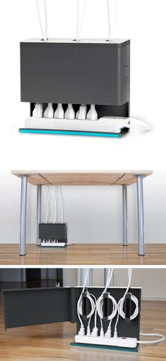 Plug Hub by Quirky // just brilliant... you should see the spaghetti under my desk. #productdesign