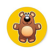 Cartoon bear Stickers - Google keresés