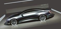 New Audi A6 Design Sketch