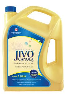 Jivo canola Oil - Finest way to lower down your BP is using oils good for blood pressure or by using oils good for BP. Canola oil is a good resource of monounsaturated fats.