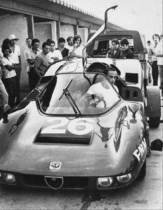 FNM Alfa Romeo Furia, Designed by Tony Bianco, with the GREAT PILOT Pedrinho De Lamare in Brasil in the 70's!
