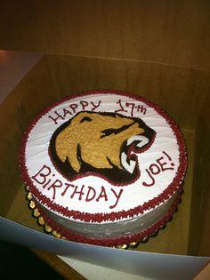 Hershey Bears Birthday Cake