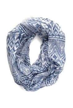 Tribal Print Infinity Scarf | FOREVER21 - 1000105010