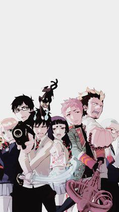 Stop Fighting Kids - Ao no Exorcist ~ DarksideAnime Anime Yugioh, Anime K, Anime Pokemon, Anime Plus, Ao No Exorcist, Blue Exorcist Anime, Blue Exorcist Mephisto, Rin Okumura, Anime Quotes Tumblr