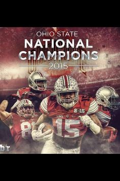 You can't be a Buckeye and not love this. OSU the Undisputed National Champs! Ohio State Football, Ohio State Buckeyes, The Buckeye State, Buckeyes Football, College Football Playoff, Ohio State University, Football Season, Football Stuff, Football Memes