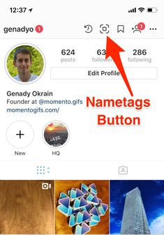 First look at Instagram Nametags its clone of Snapchat QR codes
