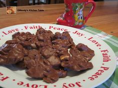 These delicious Chocolate Peanut Clusters Recipe are a real treat! Mix them up with your choice of ingredients and they'll become a new favorite.