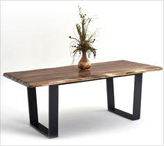 Dining Table - Black Walnut Modern 1a_535x600