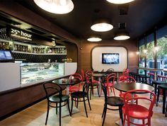 Fast food restaurant decorating ideas | Wall | Pinterest | Fast ...