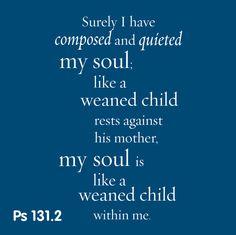 Psalm 131:2