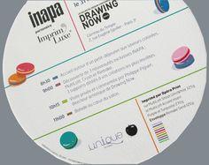 Multiloft invitation for INAPA showcase avec 15 inserts (purple et turquoise) Paris 3, Boarding Pass, Invitation, Turquoise, Purple, Travel, Carte De Visite, Lush, Cards