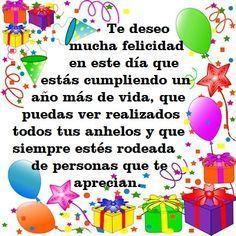 Spanish Birthday Wishes, Happy Birthday Notes, Happy Birthday Wishes Photos, Birthday Poems, Happy Birthday Wishes Cards, Birthday Greetings, Happy New Year Message, Google, Stuffed Avocado
