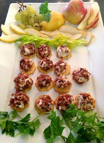 Neurotic Kitchen : All-American Starters - Southern Cheese Board: Pimiento Cheese, Candied Bourbon Pecans & Bacon Cheese Truffles