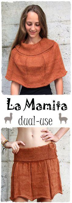 Gonna di lana New Samanta doppio uso come gonna e come coprispalle #gonna di #lanaalpaca in tinta unita a #doppiouso. Simpatica #gonnacorta da sfruttare in molteplici modi, sia gonna che #coprispalle www.lamamita.it/shop/abbigliamento-invernale/gonna-di-lana-new-samanta