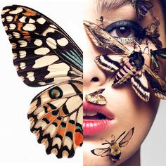 """""""Just like the butterfly, I too will awaken in my own time."""" ― Deborah Chaskin"""
