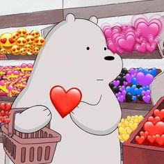 Just buyng a new heart after u broke mine ; Cute Panda Wallpaper, Bear Wallpaper, Cute Disney Wallpaper, Kawaii Wallpaper, Cute Wallpaper Backgrounds, Aesthetic Iphone Wallpaper, Galaxy Wallpaper, Animal Wallpaper, We Bare Bears Wallpapers