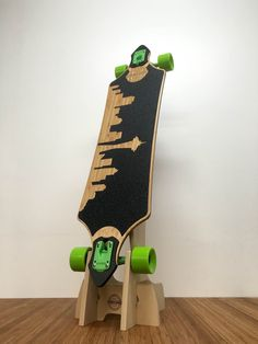 OBERAND Click Floor Rack for Single Longboard No