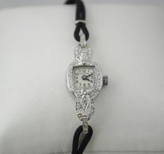 Vintage Croton Diamond Ladies Watch