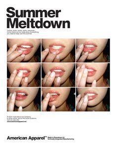 lip gloss #americanapparel #pinatripwithaa