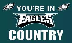 NFL Philadelphia Eagles Football Flag Banner 3x5 Mancave Tailgate Indoor Outdoor #PhiladelphiaEagles