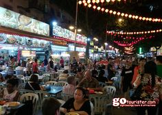Enjoy the #Delicious #StreetFood at #Hawker #Center of #Kuala #Lumpur, #Malaysia in our #Street #Food #Tour by #Night... See Itinerary: http://gotourister.com/tours/Kuala-Lumpur/Eat-Like-a-Local:-Kuala-Lumpur-Hawker-Center-and-Street-Food-Tour-by-Night/21