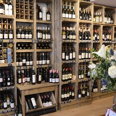 Home Decorators Luxury Vinyl Plank Wine Shop Interior, Shop Interior Design, Store Design, Deli Shop, Liquor Shop, Shop Shelving, Bar A Vin, Wine Display, Shop Fittings