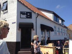 Restaurant i Allinge, Bornholm.