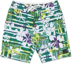 "DAKINE DOWN WIND BOARD SHORTS 2015 IN WHITE 34"" The Down Wind is a super stretchy boardshort from Dakine, made with 12% elastane this is probably the most comfortable board short your money can buy.  KEY FEATURES  Lightweight 4 -Way Stretch Zippered Back Pocket with Internal Drain Eyelet Lace Tie Waist Band 22"" Outseam 88% Polyester 12% Elastane #dakine #mensdownwindboardshorts2015 #colourwhite"