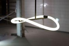 Levity Pendant Light byAustralian designers Joel & Kate Booy of studioTruly Truly.