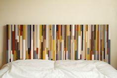 Wood Headboard Reclaimed Wood SALE modern