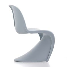Panton Chair Ice Gray by Verner Panton