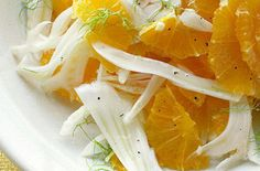 Fennel and Orange Salad Recipes More