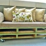 A pallet sofa, plans and instructions to build it