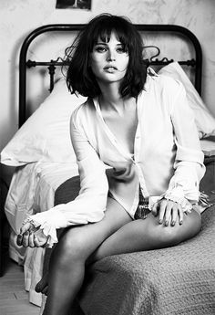 "deadhpool: ""Felicity Jones photographed by Mark Abrahams for GQ (November 2014) """