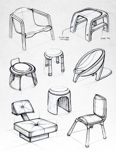 ID Sketchbook II on Behance Furniture Sketches, Furniture Nyc, Colorful Furniture, Drawing Furniture, Urban Furniture, Steel Furniture, Coaster Furniture, Classic Furniture, Retro Furniture