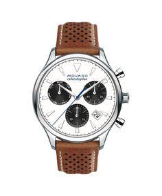 Movado Men's Heritage Series Calendoplan Chronograph Watch 3650008