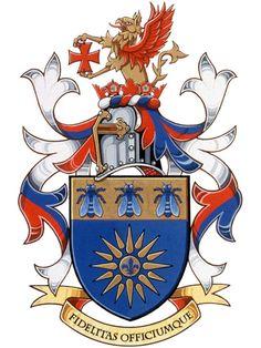 Armoiries d'Alexander John Roman Medieval, Family Crest, Crests, Coat Of Arms, Fantasy, Badge, Disney Characters, Fictional Characters, Symbols