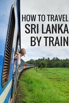 HOW TO TRAVEL SRI LANKA BY TRAIN