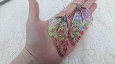 Mare de bijuterii Fairy Wing cercei realizate manual de KristenJarvisART