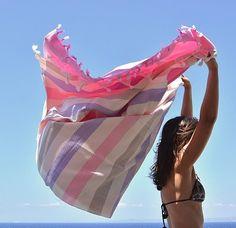 Summertime and the living is easy with our @SeaYouSoon Ibiza hammam towel! #wecreateharmony #seayousoon #beachtowel  Shop the towel here: http://www.wecreateharmony.com/designers/s-z/sea-you-soon/ibiza-pink-beige-lila.html