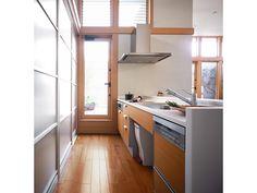 システムキッチン セミオープン型 イメージ
